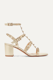 Valentino Garavani The Rockstud leather sandals