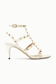 Valentino Valentino Garavani The Rockstud 70 patent-leather sandals