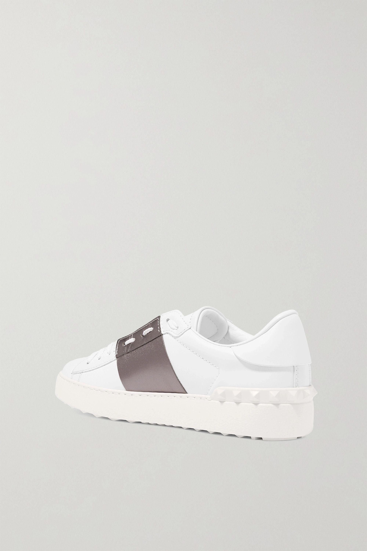 Valentino Valentino Garavani two-tone leather sneakers