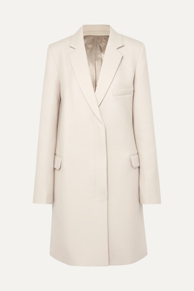 Wool Coat by Helmut Lang