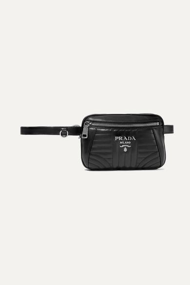 efe5930a89 Quilted leather belt bag