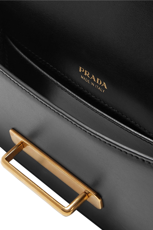 Prada Cahier leather belt bag