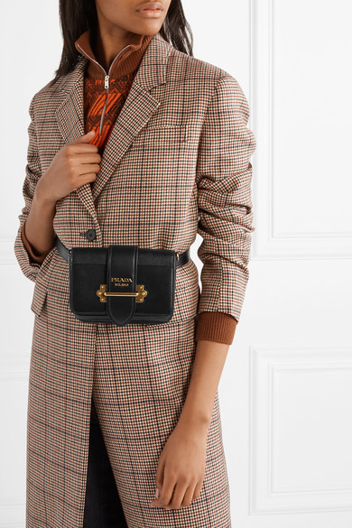 13134df1 Prada | Cahier leather belt bag | NET-A-PORTER.COM