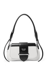 Prada Sidonie two-tone leather shoulder bag