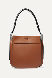Prada Margit two-tone leather shoulder bag