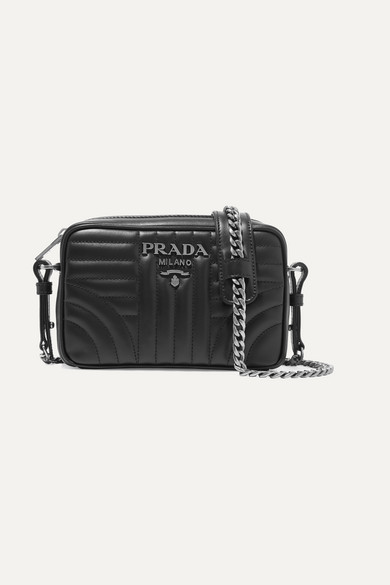 f14324a6427b Prada. Quilted leather camera bag