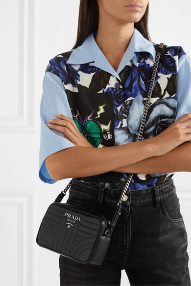 a1d2d2979ced Prada | Quilted leather camera bag | NET-A-PORTER.COM