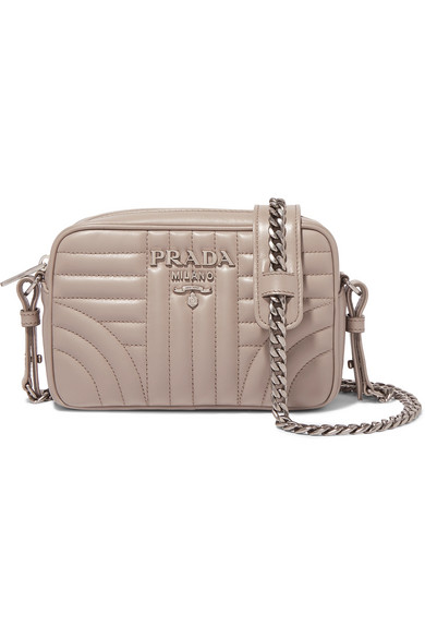 b1d2166a46d3 Prada. Quilted leather camera bag