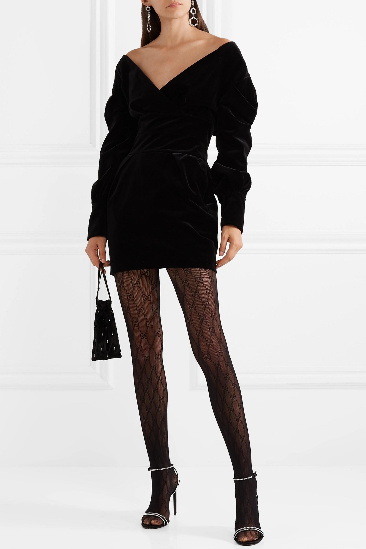 Gucci Intarsia fishnet tights