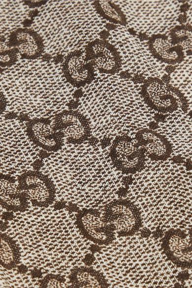 444a6f100001c Gucci | Intarsia tights | NET-A-PORTER.COM