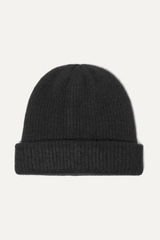 The Elder Statesman Watchman ribbed cashmere beanie