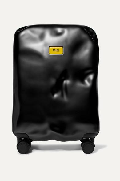 CRASH BAGGAGE Icon Carry-On Hardshell Suitcase in Black
