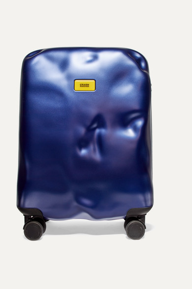CRASH BAGGAGE Icon Carry-On Hardshell Suitcase in Navy