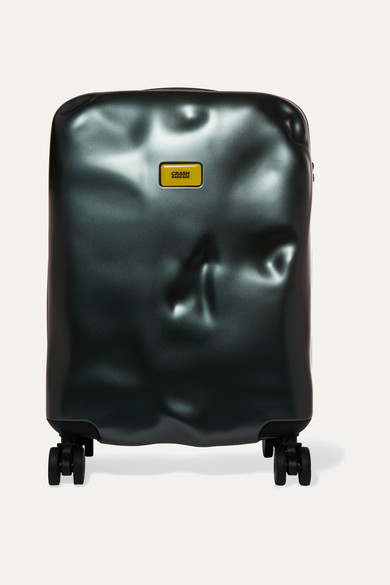 CRASH BAGGAGE Icon Cabin Hardshell Suitcase in Green
