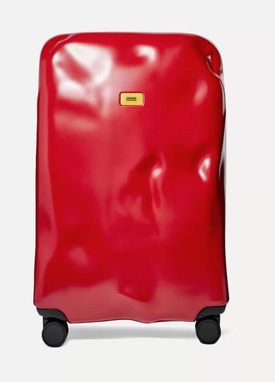 CRASH BAGGAGE Icon Large Hardshell Suitcase in Red