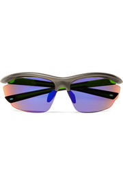 Westward Leaning Volt D-frame rubber mirrored sunglasses