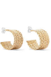 Sophie gold-tone hoop earrings