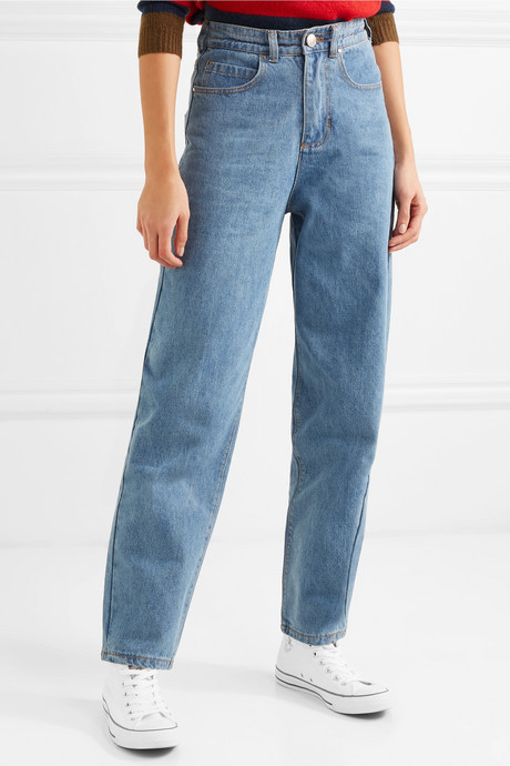 Johnny high-rise tapered jeans