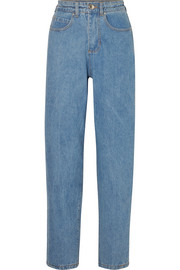 L.F.Markey Johnny high-rise tapered jeans