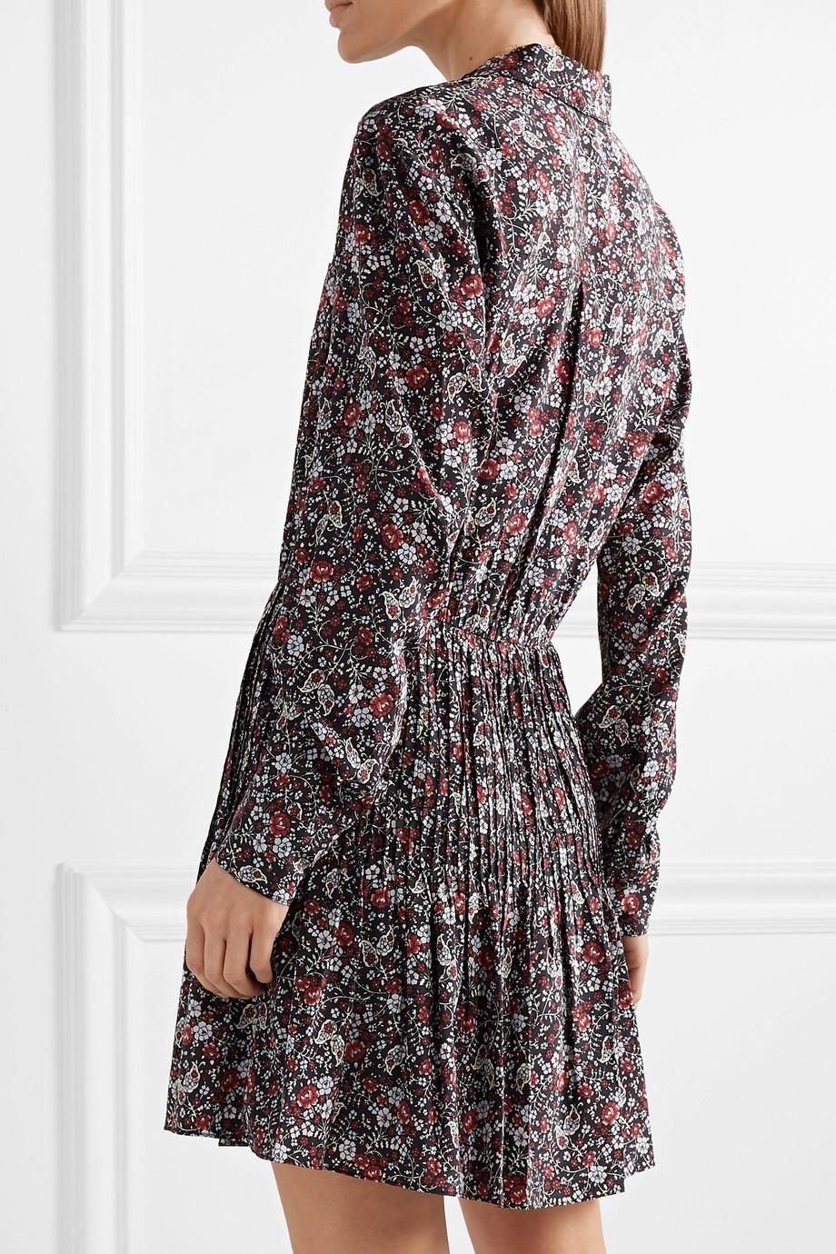 8ce103d51da Veronica Beard Rory floral-print silk-blend crepe de chine mini dress
