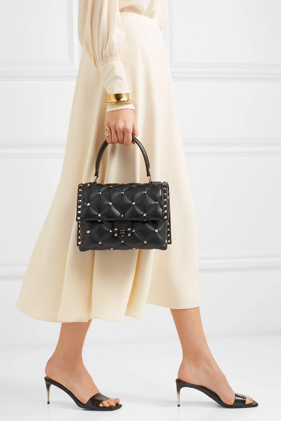 Valentino Valentino Garavani Candystud quilted leather shoulder bag