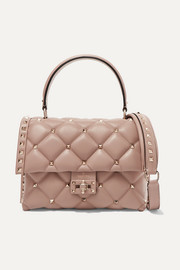 Valentino Valentino Garavani Candystud small quilted leather shoulder bag