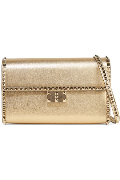 Valentino   Valentino Garavani The Rockstud No Limit metallic ... f8919b4650