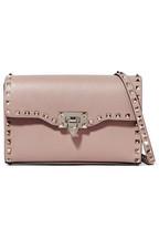 14275de8d791 Valentino Valentino Garavani The Rockstud small textured-leather shoulder  bag