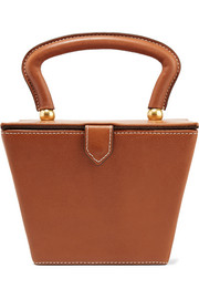 Sadie leather tote