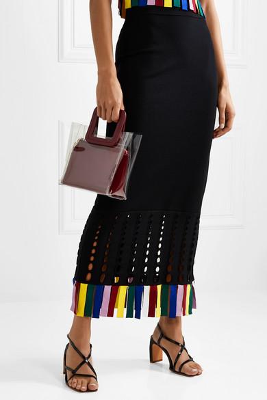 39135aceb1c2e Shirley mini PVC and leather tote