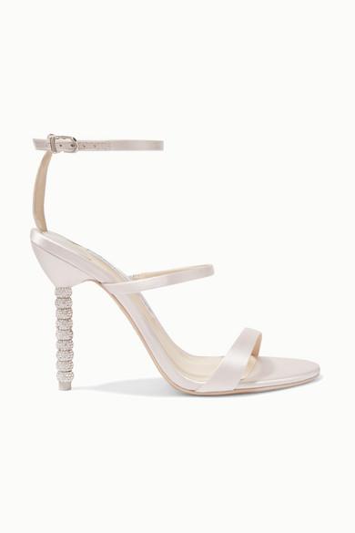 e1d462fe0 Sophia Webster. Rosalind crystal-embellished satin sandals