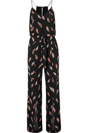 Seychelles Nore printed jersey jumpsuit