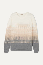Bottega Veneta Ombré wool-blend sweater