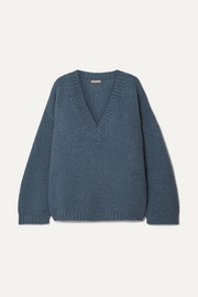 Bottega Veneta Oversized wool and alpaca-blend sweater