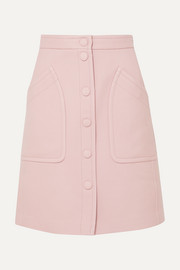 Bottega Veneta Wool-blend drill skirt