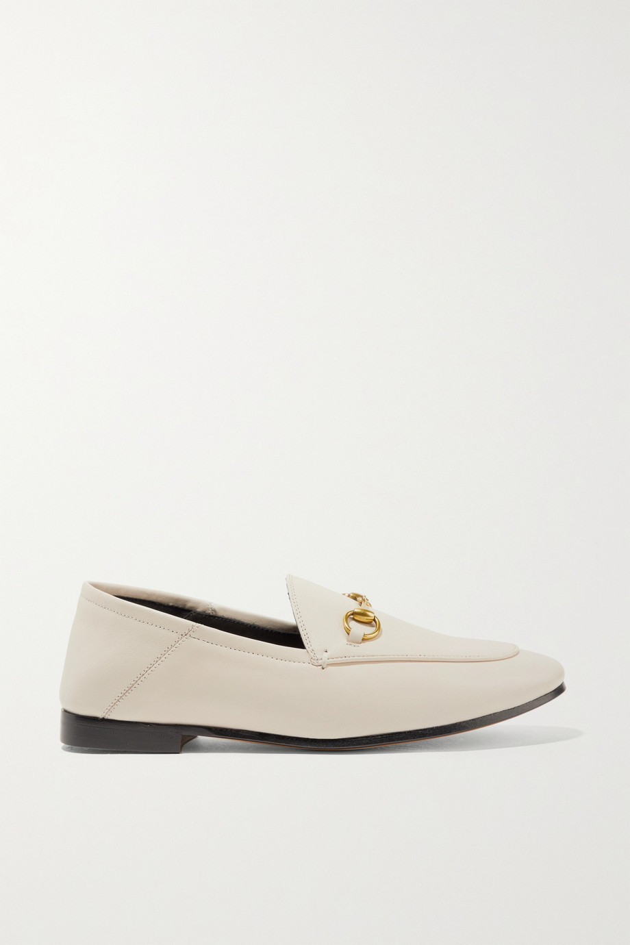 Gucci Brixton horsebit-detailed leather collapsible-heel loafers