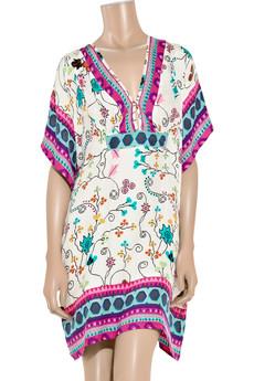 Antik Batik|Kasa floral-print silk kaftan|NET-A-PORTER.COM from net-a-porter.com