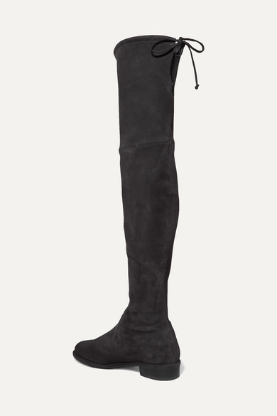 Stuart Weitzman Boots Lowland suede over-the-knee boots