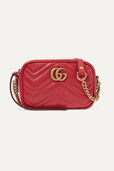 26eeb110af3a Gucci | GG Marmont Camera mini quilted leather shoulder bag | NET-A ...