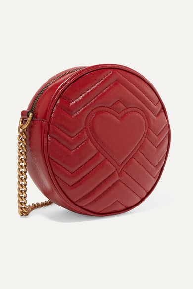 0778087acf6e8e Gucci | GG Marmont Circle quilted leather shoulder bag | NET-A ...