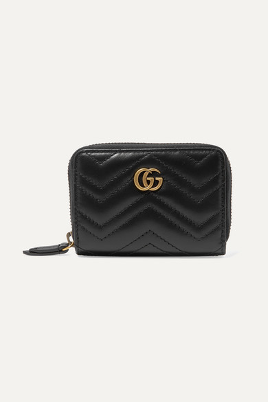 a944186ae6d2 Gucci | GG Marmont quilted leather wallet | NET-A-PORTER.COM