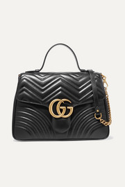 GG Marmont medium quilted leather shoulder bag