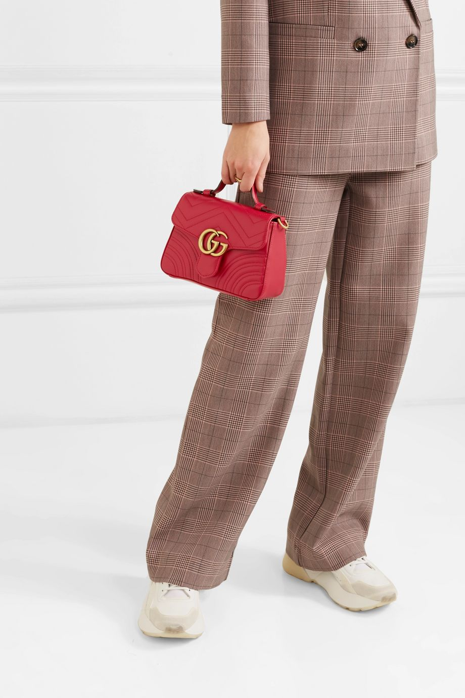 Gucci Marmont mini quilted leather shoulder bag