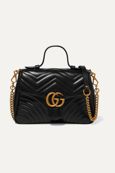 b32c66277f6 Gucci. GG Marmont small quilted leather ...