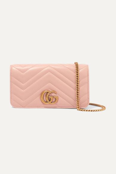 ba9029beb343 Gucci | GG Marmont mini quilted leather shoulder bag | NET-A-PORTER.COM