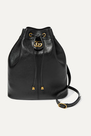 Re(Belle) medium convertible textured-leather bucket bag