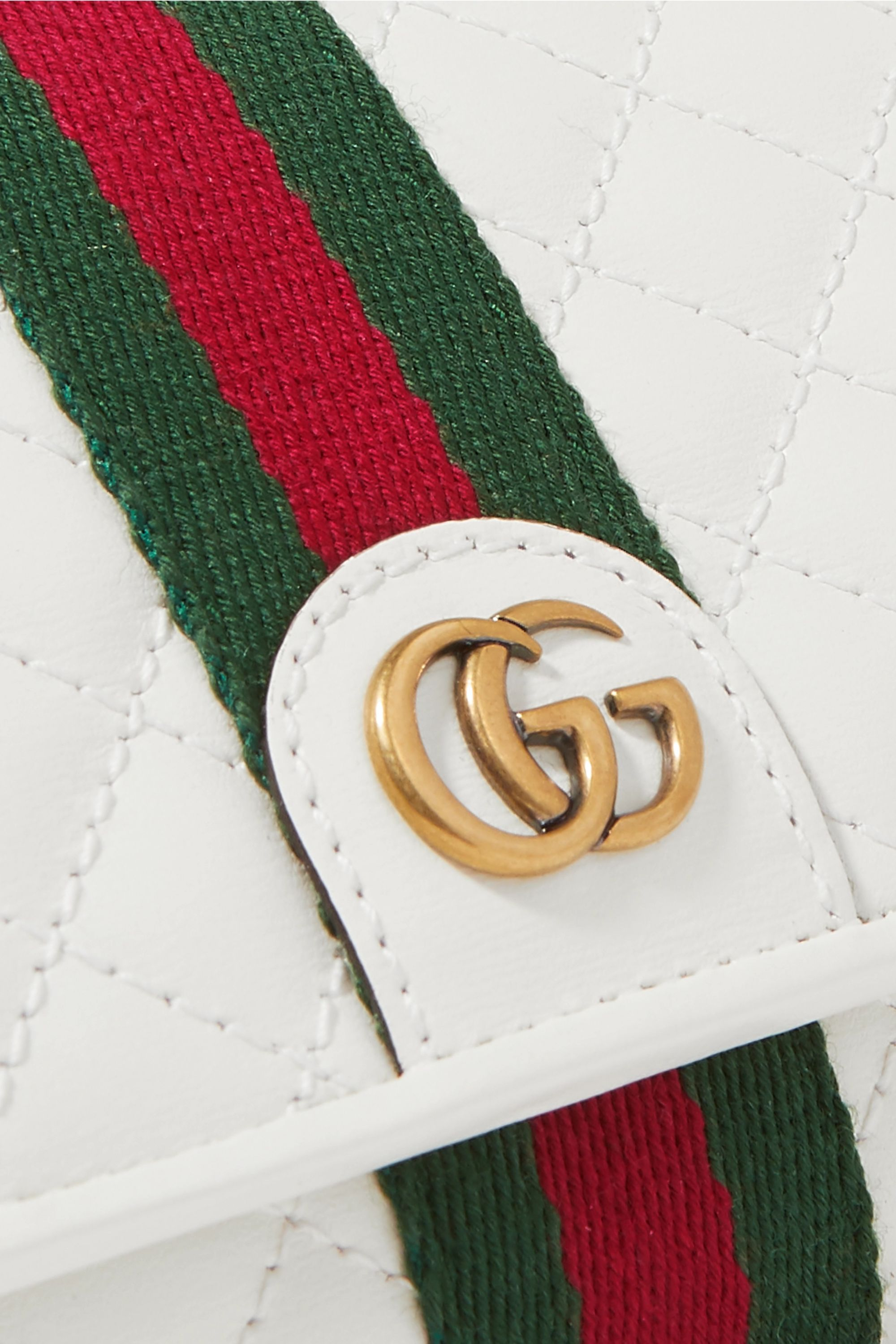 Gucci Trapuntata quilted leather wallet