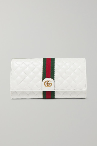 88fb4900d16c Gucci | Trapuntata quilted leather wallet | NET-A-PORTER.COM