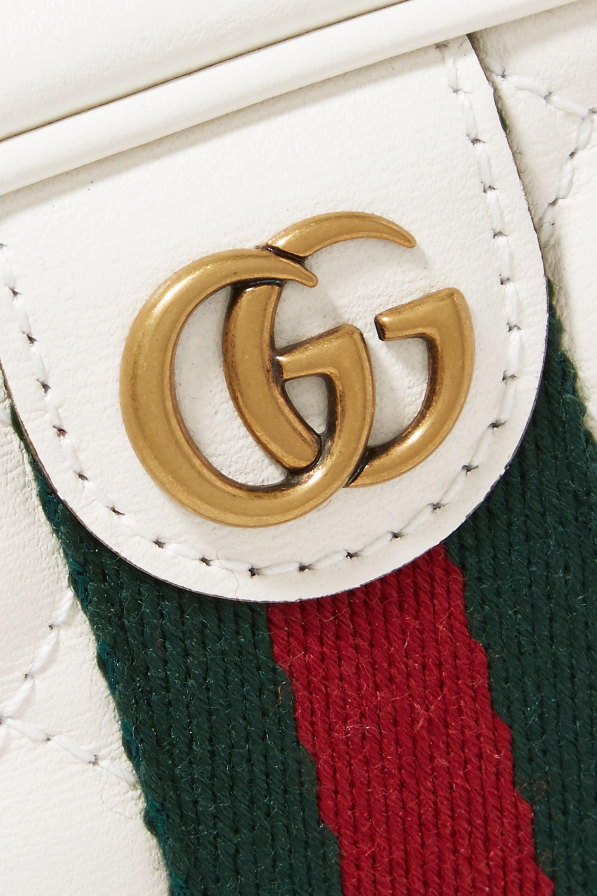 Gucci Mini quilted leather camera bag