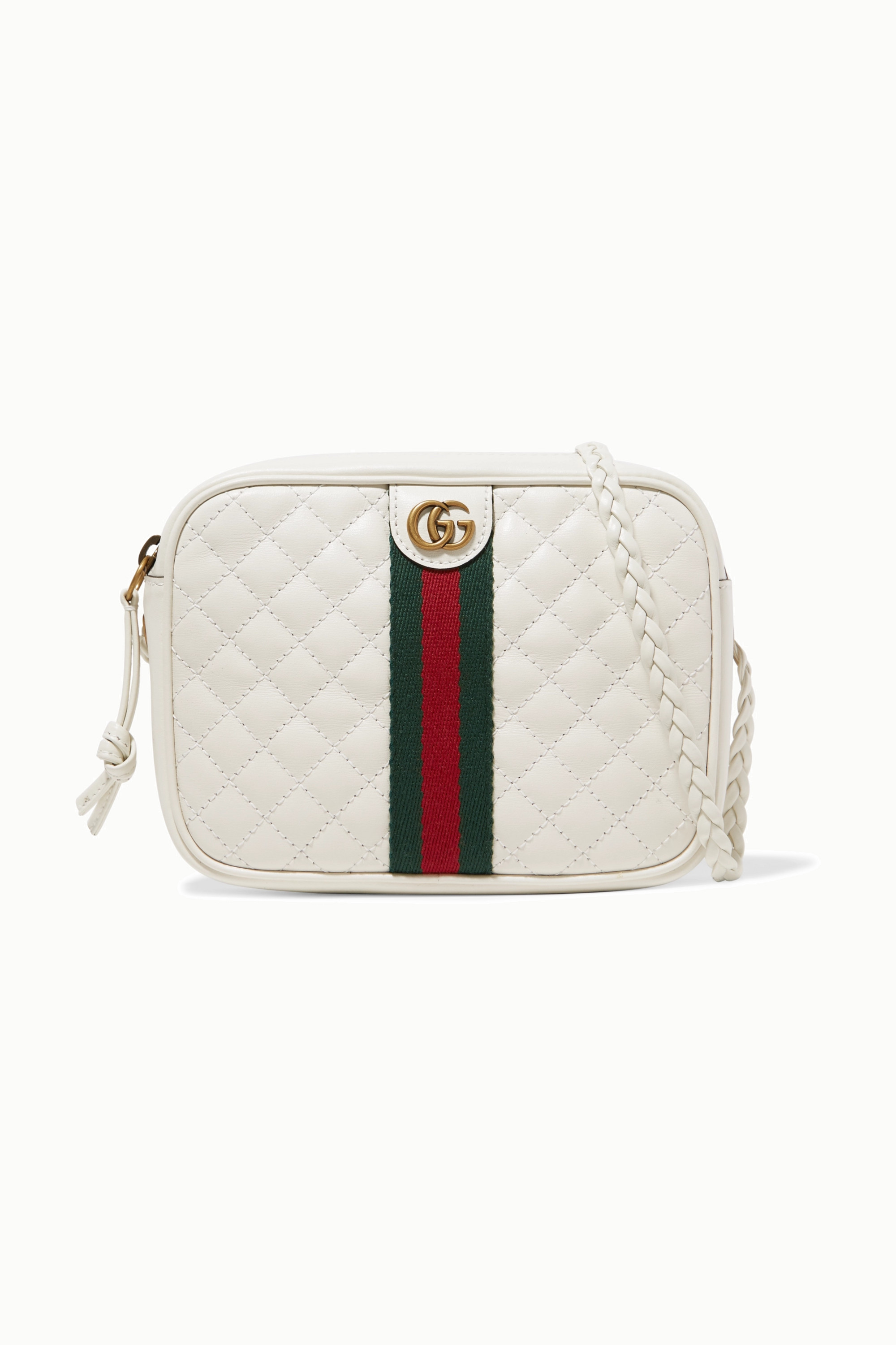 White Mini Quilted Leather Camera Bag Gucci Net A Porter